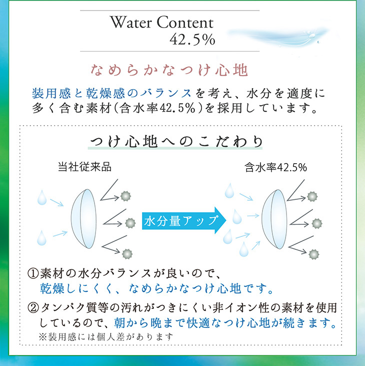 Water Content 42.5%